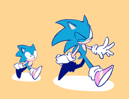 Sonic by sujinee