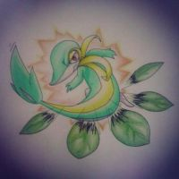 Snivy's Leaf Blade by mypokeart