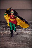 Girl Wonder to the Rescue by PANattheDisco