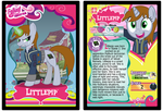 Littlepip Trading Card by RinMitzuki