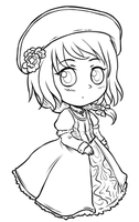 Collab - Fem HRE Lineart by say0ran