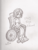Stacy Faye Edward - Design Sketch by HirokoTheHedgehog