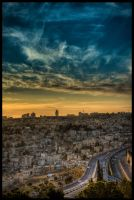 Jerusalem Sunset II by IrregardlessInc