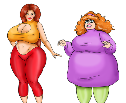 COMM: Velma and Daphne's Makeover by 13Saturn