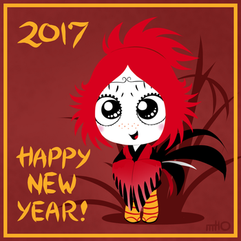 Ruby Gloom Chinese New Year 2017 by empty-10