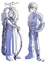 future rulers (HTTYD2 spoilers?) by tugaMaggie