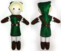 Link Plush by AlchemyOtaku17