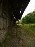 Abandonned station 32 by Dragoroth-stock