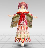 Yoshiwara Lament Teto MMD download by Reon046
