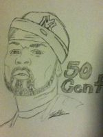 50 Cent by eminemfan08