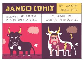 JANGO COMIX nr. 45 - BULL by laresistance