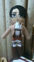 Captain Levi or Rivaille Attack or Shingeki by harmonyplush