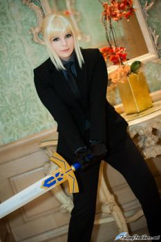 Saber Cosplay by VariaK