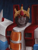 His Majesty King Starscream by Sunstars