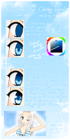 Kiwi's Eye Coloring Tutorial by deliciosaBerry
