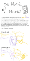 Music Meme NaruHina Style by Snuckledrops