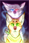 Pip and Silver by Silverfang10001