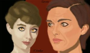 T and T by Tattersail by Malazan-Art-Guild