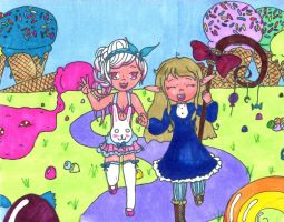 candy land colored by sexygingerbear