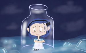 Coraline- River of tears by ButtonGirl013
