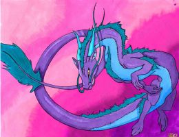 Asian Dragon by Than1Ducis