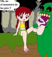 monstruo de los pies by feetishfemale