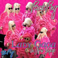 Pack Png Lady Gaga in New York by gabyvillegas