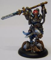 WARMACHINE Cygnar Lord Commander Stryker by FraterSINISTER