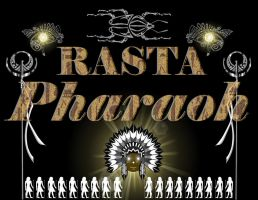 Rasta Pharaoh Logo Design by ThaMaJesticArtist