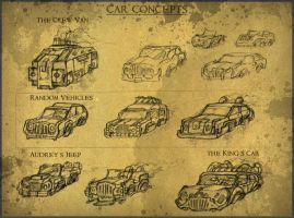 Hover Car Concepts by JRTribe