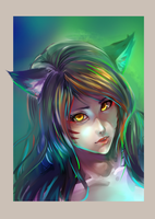 Ahri by AlNiCo-ism