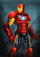 Iron Man by shamserg
