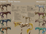 Curled Breed Sheet by MiraeChaos