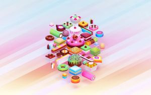Cakes by Shinybinary