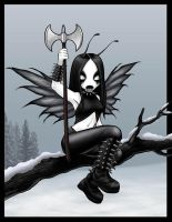 black metal fairy by pollyvinyl