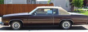 1977 olds delta 88 side view by ryanwlf33