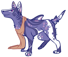 Unique SharkDog Adoptable (Closed) by SierratheSharkDoge
