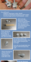 Shark Earring Tutorial by michigoose