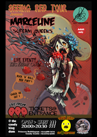 Marceline and the Scream Queen band poster by JohnDevlin