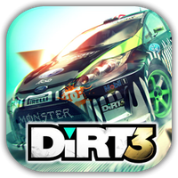 DiRT 3 Game Icon by Wolfangraul