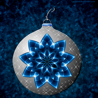 blue ornament by gosiekd
