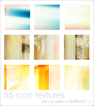 55 ICON TEXTURES by saihara
