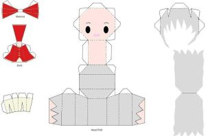 Ayame Papercraft! by LuLuBellaCalista