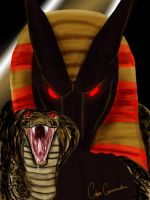 Anubis - Battle Artist by TheCobraCommander
