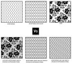 Lace and Mesh Pattern Swatch by vectorgeek