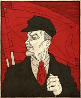 Lenin by the-black-cat