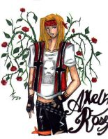 Axel Rose by Halo-AngelX16