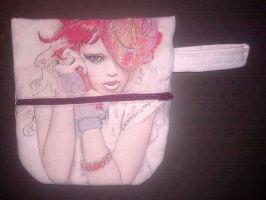 Fashion inspired Pencil Pouch by htavos