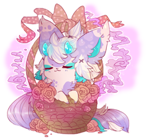 basket full of smell nice by Sableu