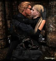 Jill x Wesker 12 by Sherringui